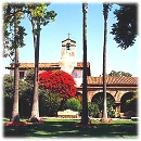 The Mission at SJC, California's first misson,